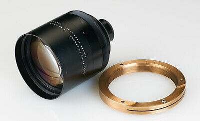 Leitz Leica Canada Vintage Lens 65mm f/0.75 made for Picker X-Ray Corp. w/ring