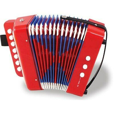 NEW Red Accordion (19x19x10 cm) from Baby Barn Discounts