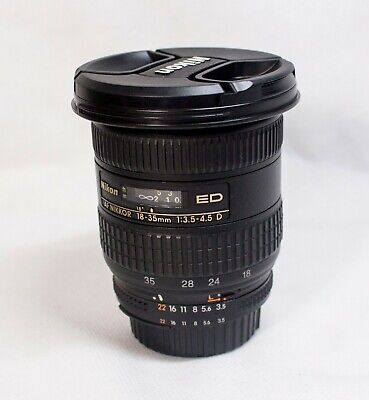 Nikon FX Full Frame Zoom-NIKKOR 18-35mm f/3.5-4.5 D AF IF ED Lens