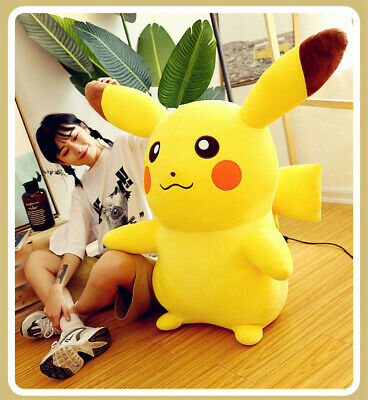 Cute Pokemon Giant Pikachu Large Plush Toy Stuffed Doll Pillow Cushion Xmas Gift