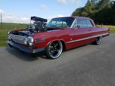 1963 Chevrolet Impala SS 1963 Chevrolet Impala SS Supercharged Big Block Pro Street Muscle Rod Classic
