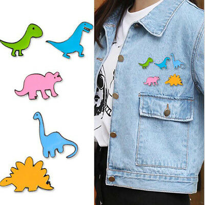 Lovely Cartoon Dinosaur Stegosaurus Enamel Lapel Pin Badge/Brooch Decor MA