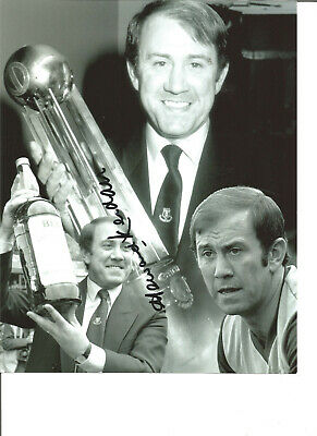 Football Autograph Howard Kendall Everton Manager Signed 10x8 Photograph JM223