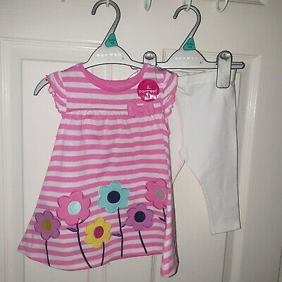 BNWT 2 PIECE TOP & LEGGINGS OUTFIT AGE 1 - 1.5y