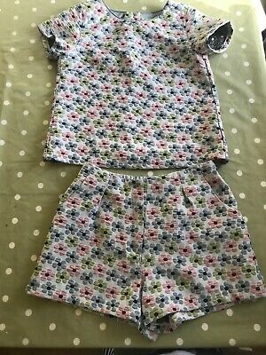 Next Girls Outfit Age 12 Shorts And Top