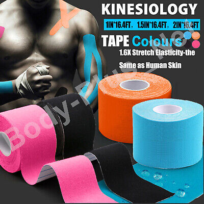 Kinesiology Tape | Sports Physio Knee Shoulder Body Muscle Support KT Tape