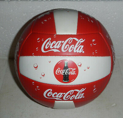 Coke Coca-Cola Soda Advertising Logo Volleyball by Fotoball