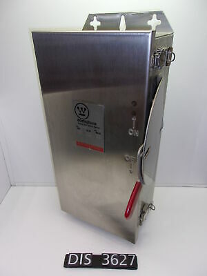 Westinghouse 600 Volt 60 Amp Fused Disconnect Safety Switch (DIS3627)