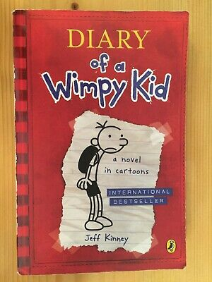 Dairy of a Wimpy Kid - a novel in cartoons Book by Jeff Kinney