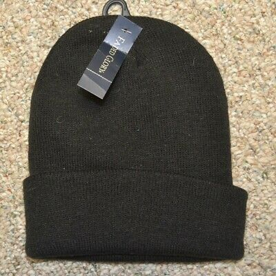 Faded Glory Boys One Size Knitted Cuff Hat