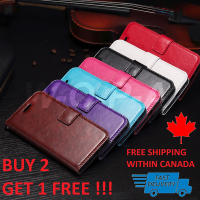 For iPhone X  XS  Luxury New PU Leather Pouch Flip Cover Wallet Phone Case