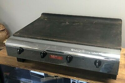 "Vulcan Hart Model 3 30"" Natural Gas Flat Top Grill Griddle Commercial Stainless"