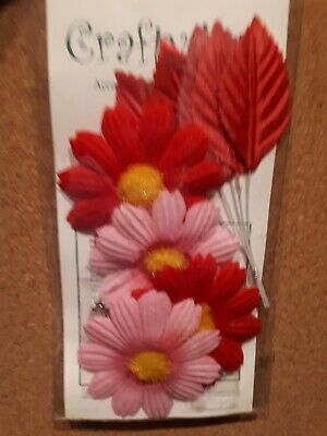Flower And Leaf Craft Embellishments