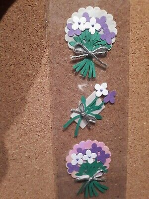 3D Flower Craft Embellishments