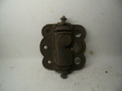 Vintage Antique Cast Iron Spring Loaded Door Hinge  ESTATE FIND