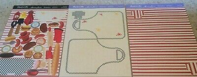 Hunkdory Kit - Grill King and Nice Buns! - Shaped Cards and Embellishments