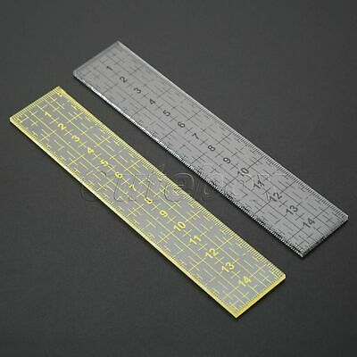 AU Household Sewing Patchwork Essential Tool Foot Sewing Ruler Acrylic Handmade