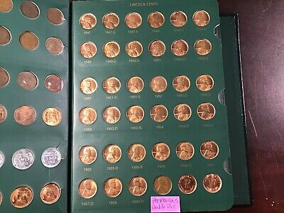 Nearly Complete Lincoln Head Penny Collection a Set of Highgrade Cents 1909-2007
