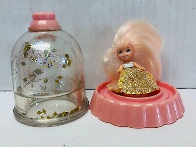 Krystal Princess Doll Vintage Girl Toys Playskool 1990s Diamonds Water Globe
