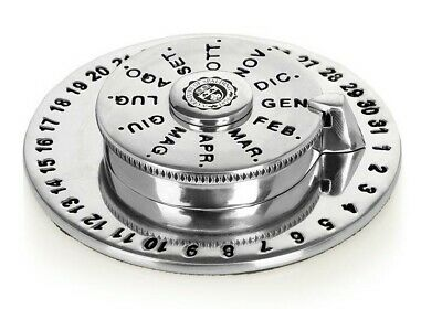Perpetual Calendar Spalding & Bros a. G.English Perpetual Calendar Object from S