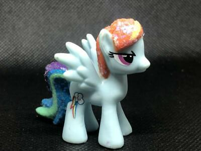 My Little Pony Friendship Is Magic 2 inches glitter Rainbow Dash as pic LYP04