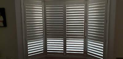 Classic Antique White Window Shutters
