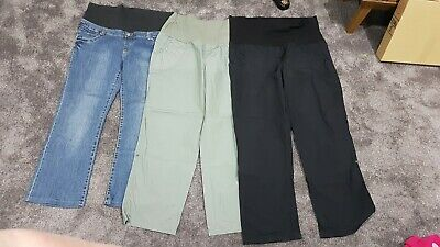 Maternity Jeans And Cargo Pants Size 18 EUC
