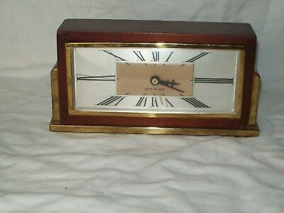 Vintage Seth Thomas ~ Wooden Body Electric Clock ~ Working Condition