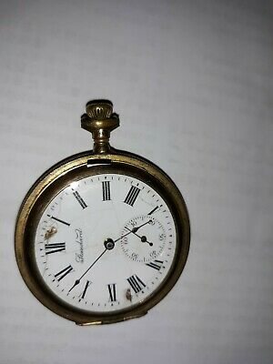 Antique New York Standard Pocketwatch Philadelphia Victory Case as is