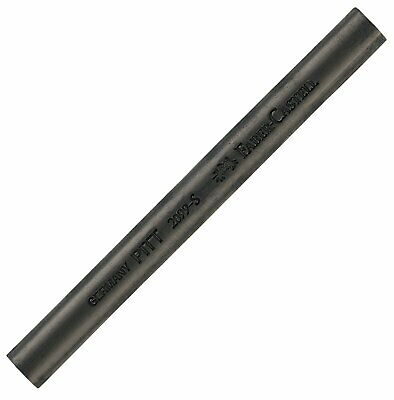 Faber-Castell Compressed Pitt Soft Charcoal Stick - Black