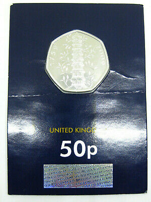 2019 Kew Gardens UK 50p Fifty Pence Coin Brilliant Uncirculated BUNC