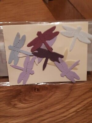 Dragonfly Mulberry Paper Craft Embellishments