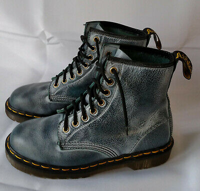 Rare Vintage Dr. Doc Martens 1460 Boots Made in England UK6 US Womens 8  Mens 7