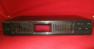 Optimus Model 31-2030 Stereo 10 Band Graphic Equalizer