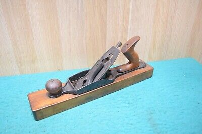 Sargent Wooden Sole Jack Plane Woodworking Old Tools