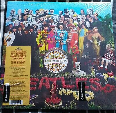 The Beatles Sgt. Pepper's Lonely Hearts Club Band Anniversary Edition Double New