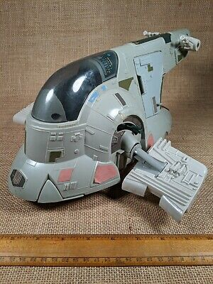 Star Wars Vintage Slave-I Boba Fett's Spaceship Kenner w/ Box & Instructions