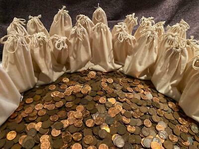 🔥 Estate Lincoln Wheat Cent Penny Bag Us Lot Old Coins Bonus Choose How Many 🔥