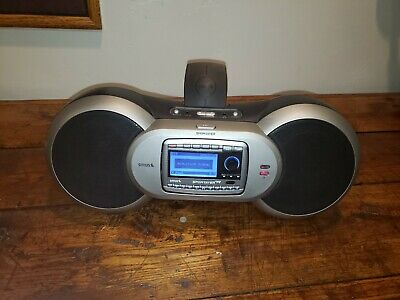Sirius  Sporster R With Sporster Sp-B1a Boombox Lifetime Subscription