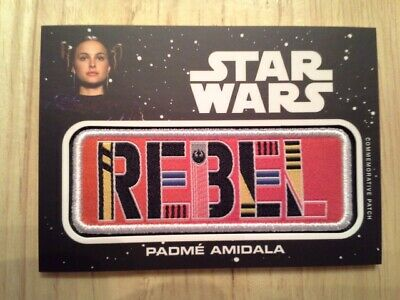 Star Wars Journey to The Rise of Skywalker Jumbo Patch Card Padme Amidala