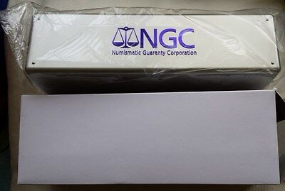 4 NGC Storage Boxes Holds 20 Slabbed Coins each.  Brand New In Boxes