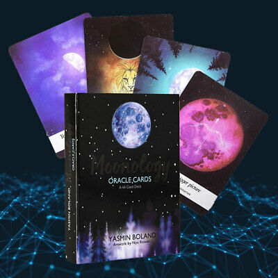 Tarot Moonology Oracle Cards: A44-Card Deck and Guidebook by Yasmin Boland Magic