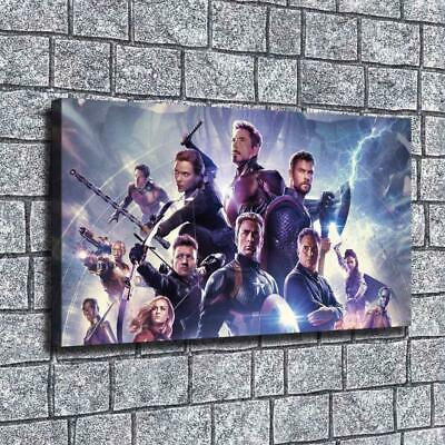 "12""x22""Marvel heroes poster HD canva home decor wall art picture photo painting"