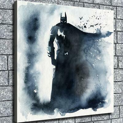 "12""x12""Ink superhero batman HD Canvas Home decor room Wall art painting pictures"