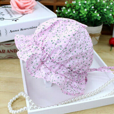 Toddler Baby Sun Hat Cotton Kid Bucket Cap Summer Beach Travel Outdoor Cap MA