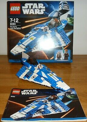 Star Wars Lego: Plo Koon's Jedi Starfighter 8093 – Excellent Condition