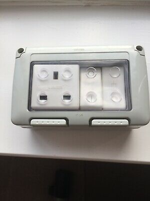 Outdoor Socket, Outdoor Switched Fused Single Socket