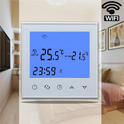 Wifi Smart Cronotermostato Digitale Programmabile Touch Screen Termostato
