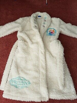 Girls Age 5-6 Years - Disney Frozen sparkly dressing gown