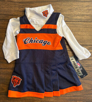 NFL Chicago Bears Baby Infant Toddler Girls Dress YOU PICK SIZE *